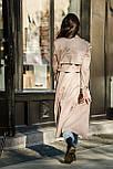 Женское стильный тренч / тренч кот на подкладке (в расцветках), фото 8