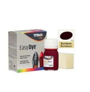 Краска для кожи TRG Easy Dye, 25 мл №111 Bordeaux (Бордо)