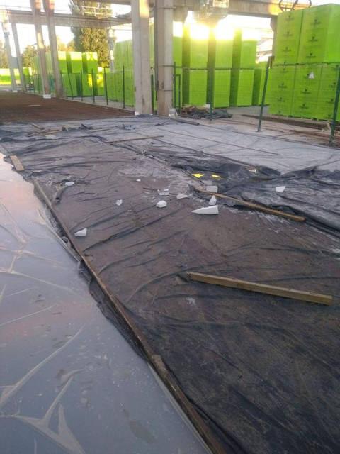 Улаштування покриття з бетону складу готової продукції  м.Бровари 3