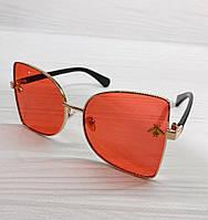 Солнцезащитные очки Gucci реплика Красные