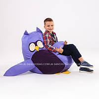 """Детское кресло-мешок """"Совушка"""" M 110x80 см (ткань: оксфорд), фото 1"""