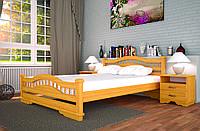 Кровать двуспальная детская  Атлант-7  160*200 сосна