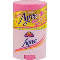 Японский натуральный дезодорант-антиперспирант стик Agree на основе минеральных квасцов, 20 г