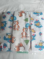 Набор фланелевых пеленок для новорожденный,  3 шт., Модный карапуз