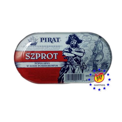 Pirat Szprot - шпроты в томате 170 г