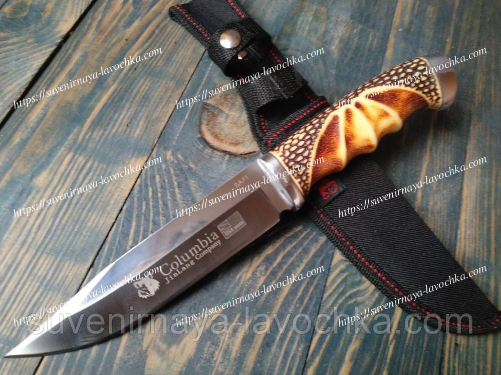 Нож нескладной Columbia SA71 Cobra Фирменный