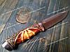 Нож нескладной Columbia SA71 Cobra Фирменный, фото 4