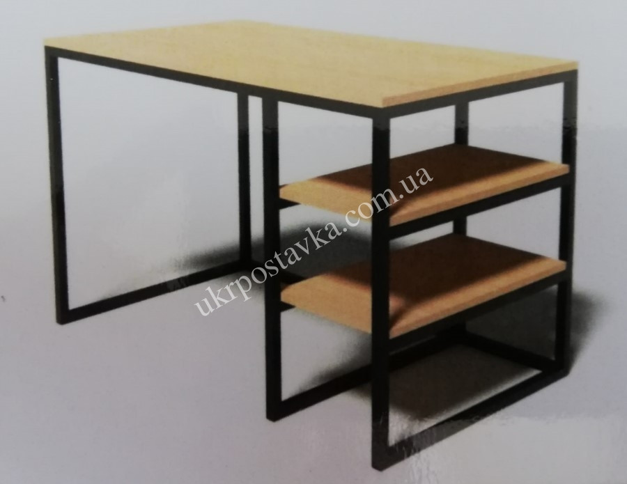 "Письменный стол LOFT ЛОФТ ""Лукас"" 600х1200х750 мм"