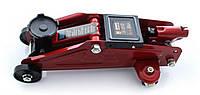 Домкрат 2т 140-295мм гидравлический подкатной в пластиком кейсе, Дорожная карта FJ-01PVC