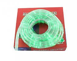 Гирлянда Xmas Rope light 10M G Зеленая