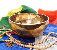 Чаша поющая кованная Индийская (14.5-15 см)