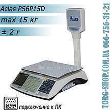 Торговые весы Aclas PS6 (PS6P-15D)