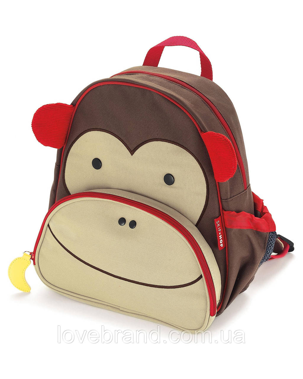 """Рюкзак для малыша SkipHop (США) """"Обезьяна"""", рюкзачок для мальчика от 3-х лет"""