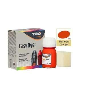 Краска для кожи TRG Easy Dye, 25 мл №128 Orange (Красный апельсин)