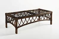 Кофейный столик Cruzo Феофания натуральный ротанг Коричневый (ks13055)