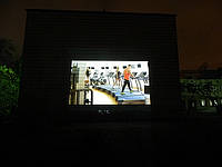 Уличный рекламный видеопроектор  «OМP-6» для проекционной рекламы