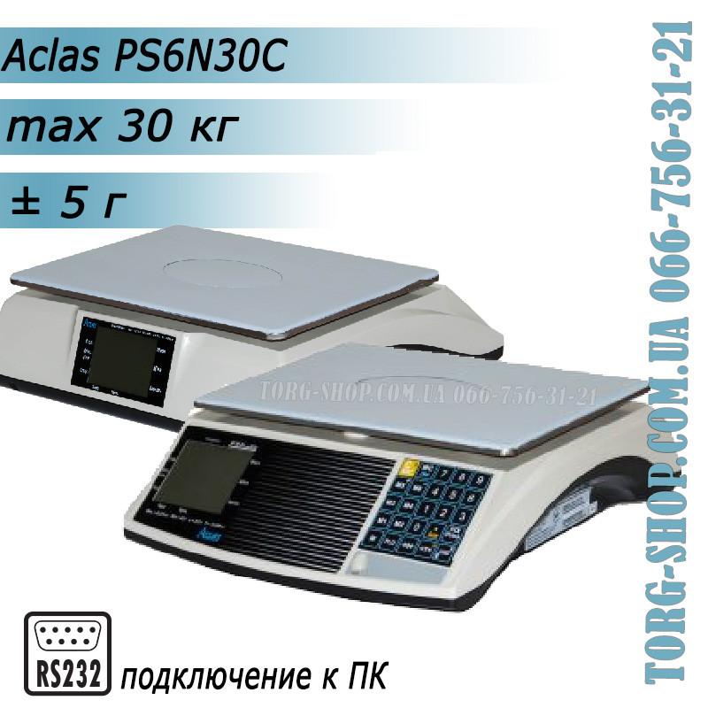 Торговые весы Aclas PS6 (PS6N-30C)