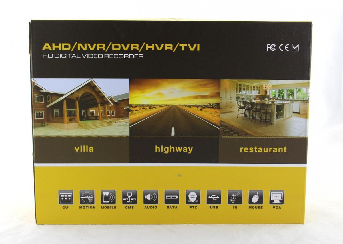 Регистратор видеонаблюдения DVR CAD 1208 AHD 8ch