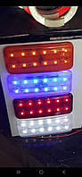 Габаритные огни для грузовиков желтые,белые, красные 12-24V LED Фонарь габаритный прицепа, габариты