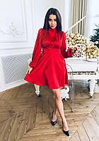 Шикарное платье из шелка Армани