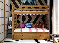 Кровать деревянная Трансформер-1 80*190 сосна