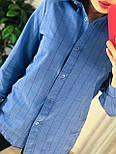 Жіноча бавовняна сорочка в клітку (в кольорах), фото 4