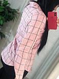 Жіноча бавовняна сорочка в клітку (в кольорах), фото 8