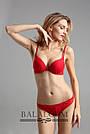 Комплект женского нижнего белья  двойной пуш ап Balaloum 9301 красный, фото 6