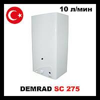 Дымоходная Газовая колонка DEMRAD SC 275 SEI LCD