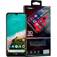 Защитное стекло на Huawei Y5 (2019) черное Gelius Pro 3D с полным покрытием экрана телефона.