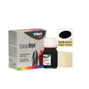Краска для кожи TRG Easy Dye, 25 мл №133 Dark Green (Темно-зеленый)