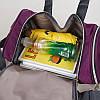 Спортивная сумка TOSH фиолетовая, фото 5