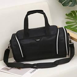 Спортивная сумка TOSH черная