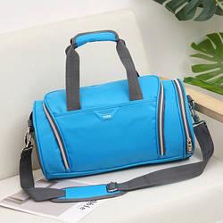 Спортивная сумка TOSH голубая