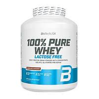 Сывороточный протеин без лактозы BioTech 100% Pure Whey Lactose Free 2.27 кг