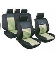Чохли на сидіння авто універсальні MILEX Tango бежеві (повний комплект)