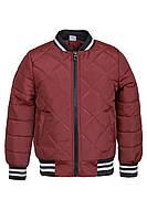 Демисезонная куртка на мальчика ANSK 122 бордовая 2044000D, фото 1