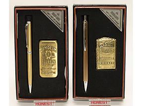 Подарочный набор: зажигалка + ручка