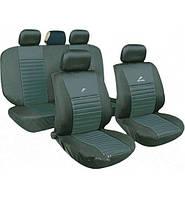 Чохли на сидіння авто універсальні MILEX Tango сірі (повний комплект)