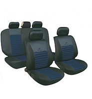 Чехлы на авто сиденья универсальные MILEX Tango синие (полный комплект)