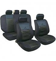 Чохли на сидіння авто універсальні MILEX Tango чорні (повний комплект)