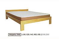 Кровать деревяная ЛК-9 90*200 сосна