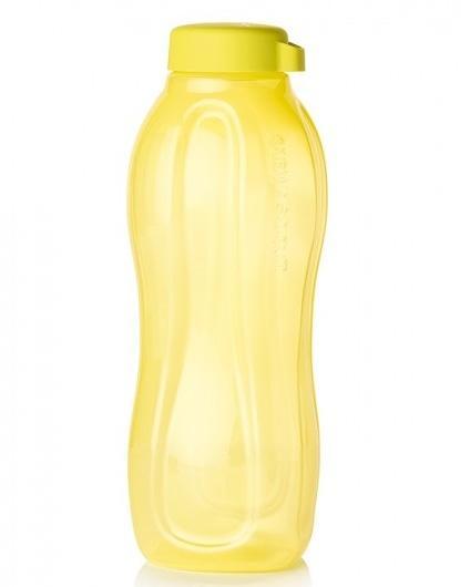 Tupperware эко бутылка 1.5л в жёлтом цвете без клапана