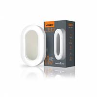 Светодиодный LED светильник Овал 11W 5000К 820Lm IP65 Videx, для ЖКХ