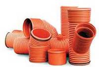 Фитинги Инкор (Incor), d 160-1000 мм для канализации из  двухслойных гофрированных труб InCor