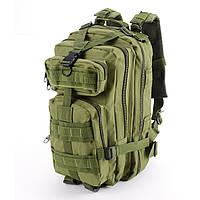 Тактический штурмовой военный рюкзак на 35л. (Черный) 25л. Зеленый