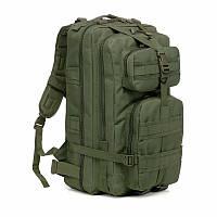 Тактический штурмовой военный рюкзак на 35л. (Черный) 35л. Зеленый