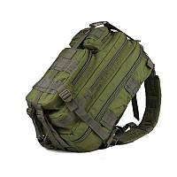 Тактический штурмовой военный рюкзак на 35л. (Черный) 45л. Зеленый