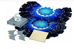 Набор для детского творчества. Лампа проектор звёздного неба.Научный набор планета.