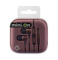 Наушники с микрофоном ERGO ES-600i Minion Bronze
